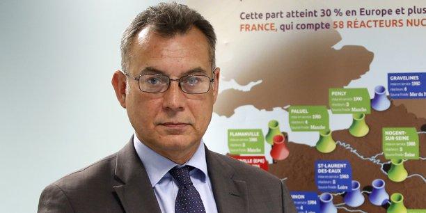 Pierre-Franck Chevet, président de l'Autorité de sûreté nucléaire (ASN) jusqu'en novembre 2018. (Crédits : Reuters)