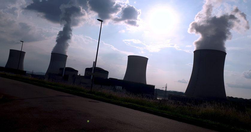 la centrale nucléaire de Cattenom en Lorraine