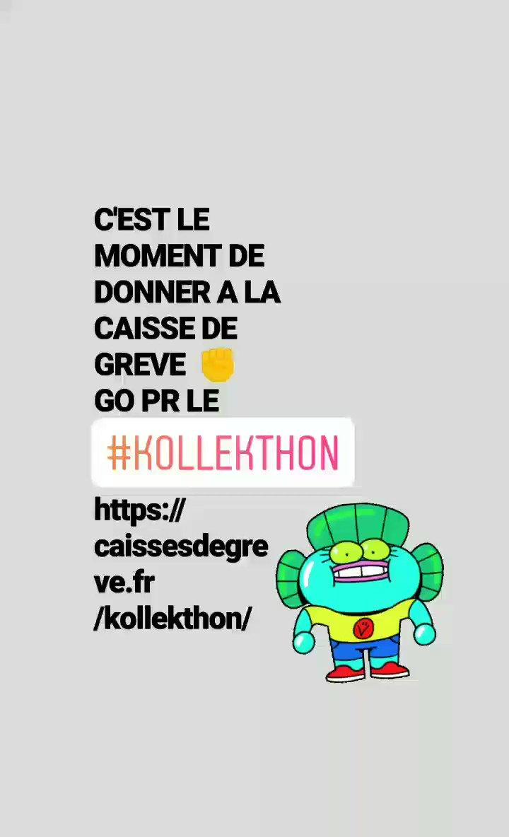 #Référendum UN AUTRE MONDE EST POSSIBLE #Retraite #KOLLEKTHON