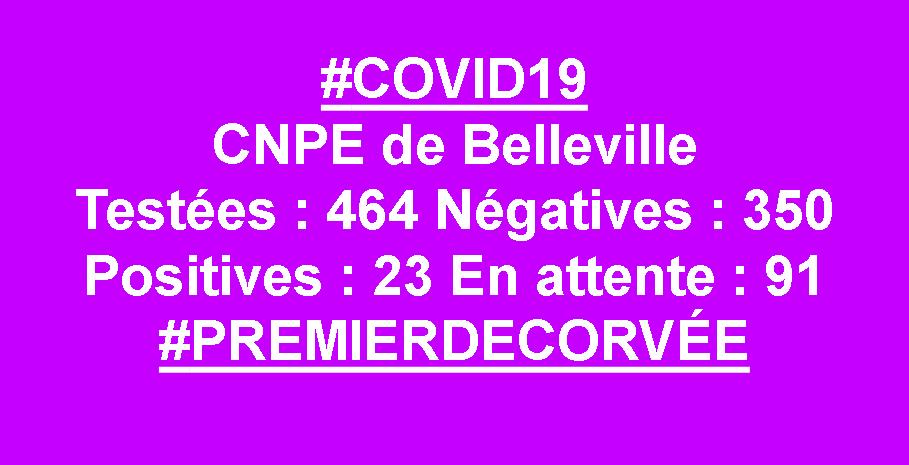 #COVID19 EDF BELLEVILLE AU 09/07